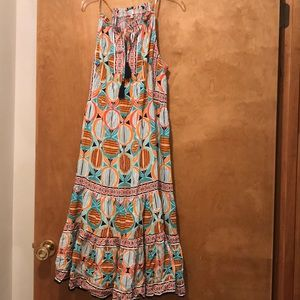 Crown and Ivy large dress with ties